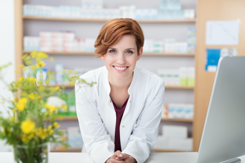 Pharmacist Ready to Provide Medication