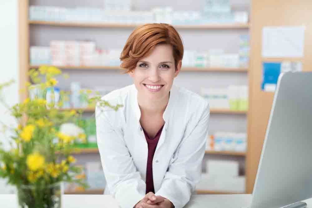 NowRx Pharmacist Ready to Provide Service