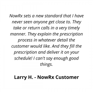pharmacy delivery testimonial