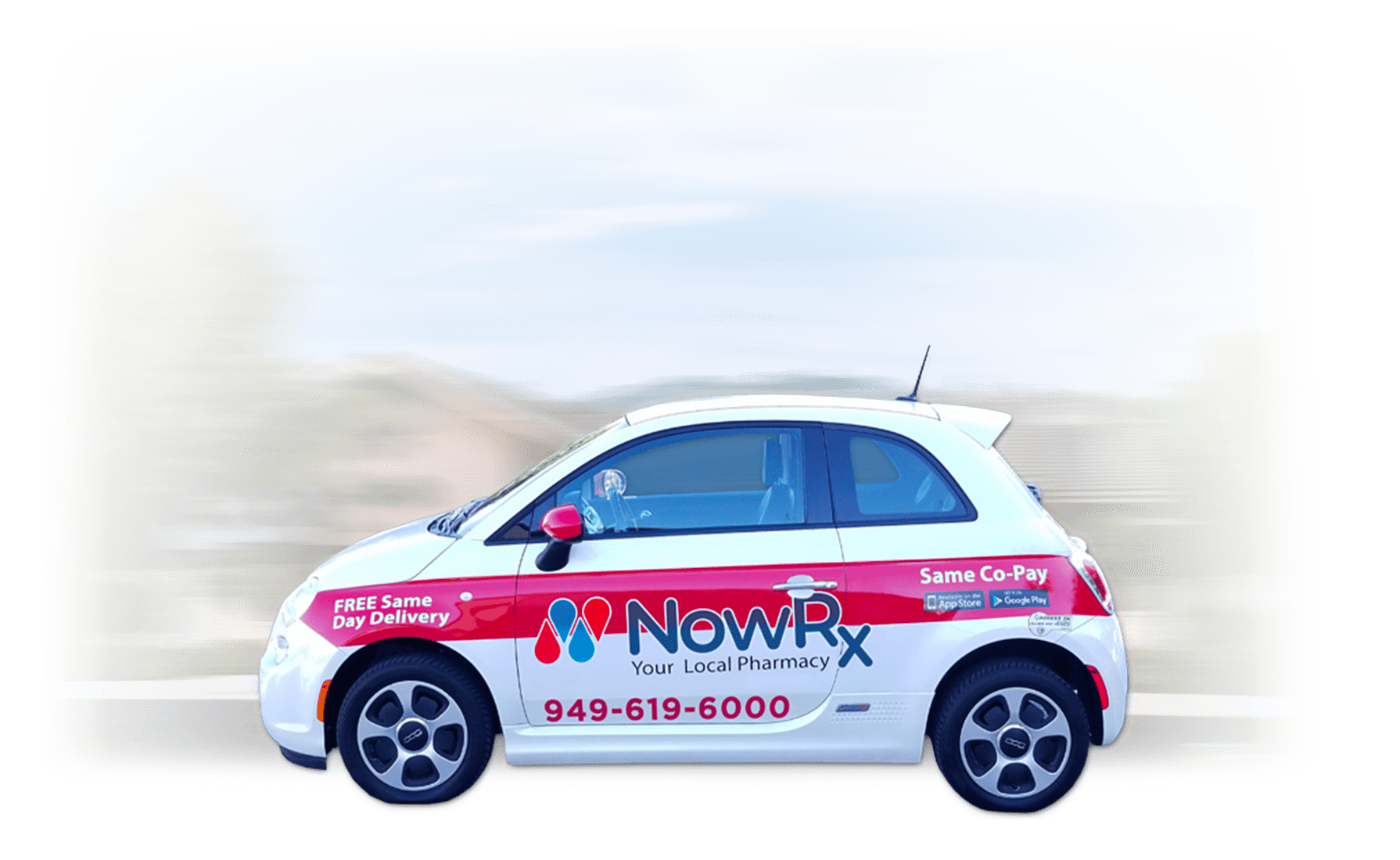 NowRx Pharmacy Delivery Car